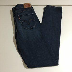 Levi's Mid Rise Skinny Womens Jeans Size 29 (8L)